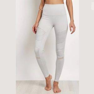 ALO Yoga High-Waist Moto Legging, Dove Grey